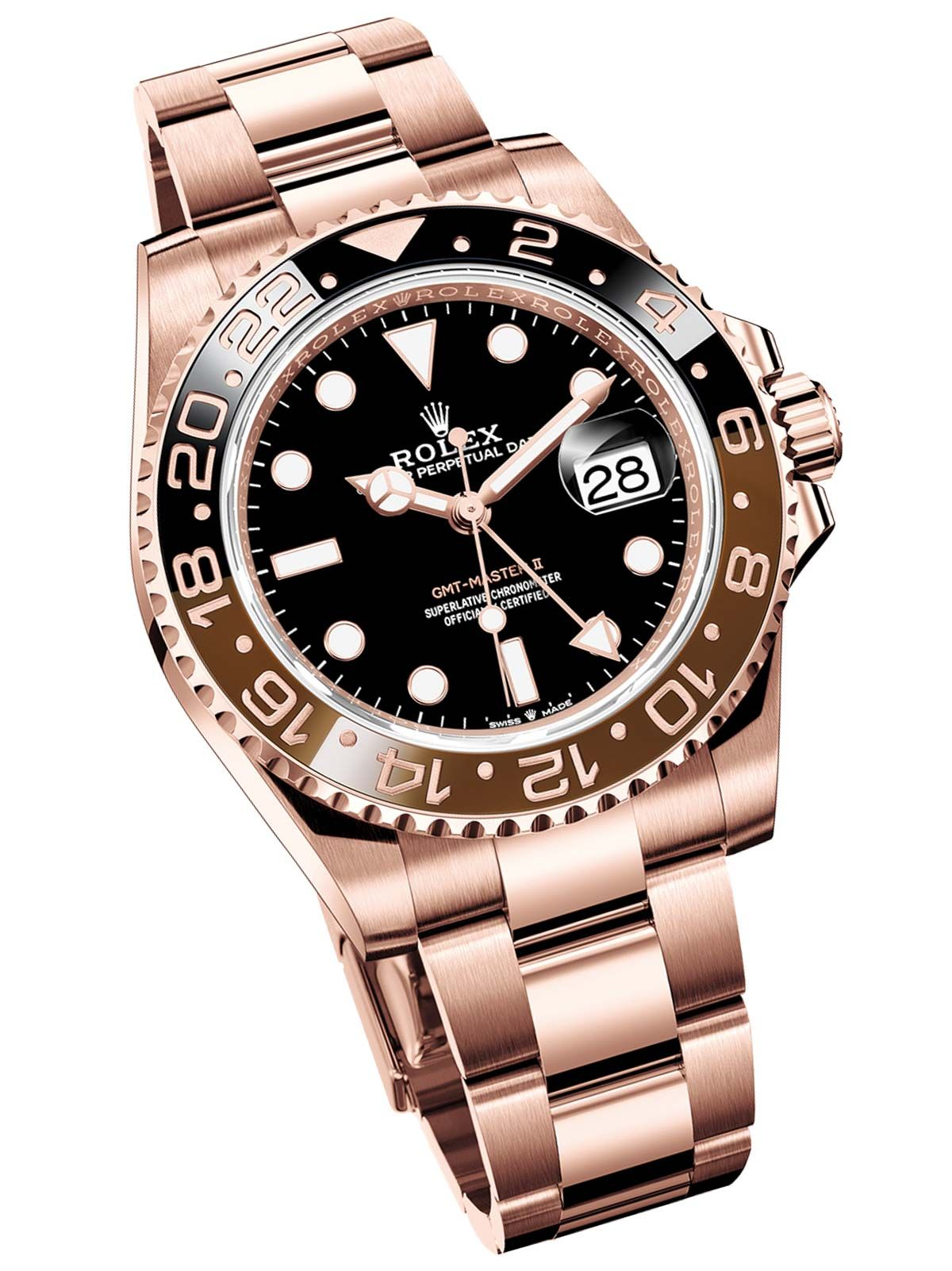 b3ae2dc4268 Rolex GMT-Master II  Root Beer  In Rolesor   Everose Gold For 2018 First  Look