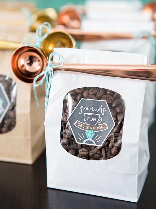 Diy Coffee Beans Wedding Favors Pinterest Favors Diy Wedding