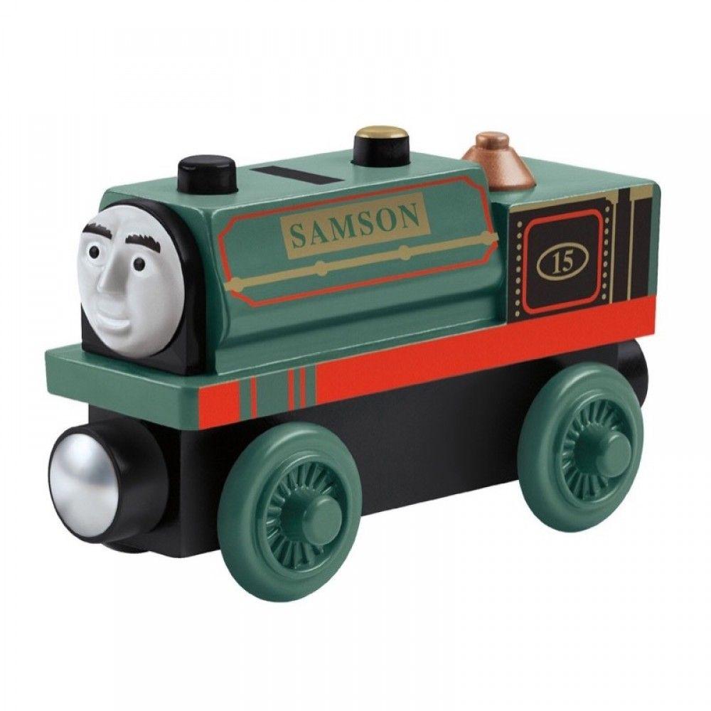 Trenino Thomas & Friends - Wooden Railway - Samson - CDJ02 ...