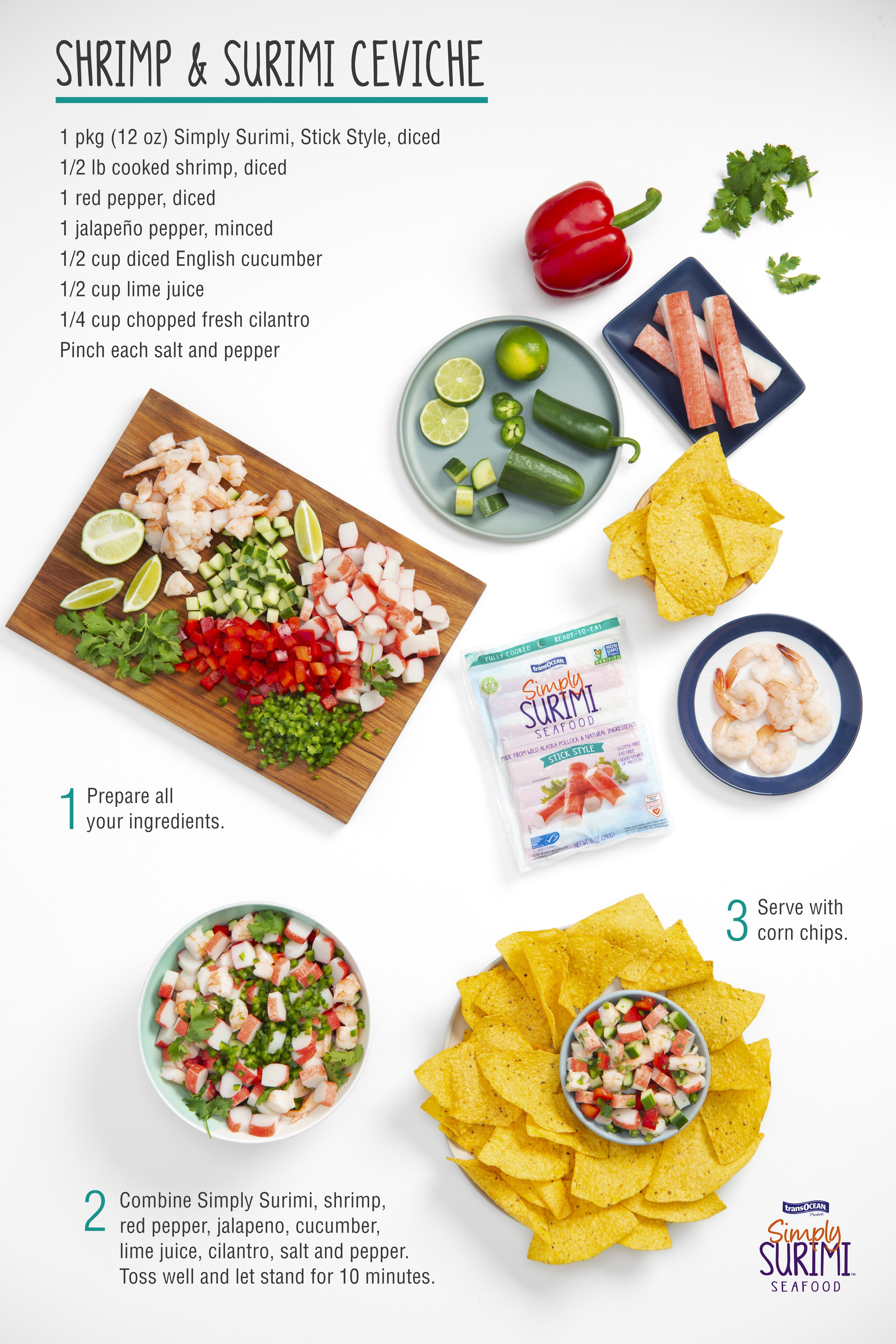 Spicy And Tangy Ceviche How To Cook Shrimp Ceviche Stuffed Jalapeno Peppers