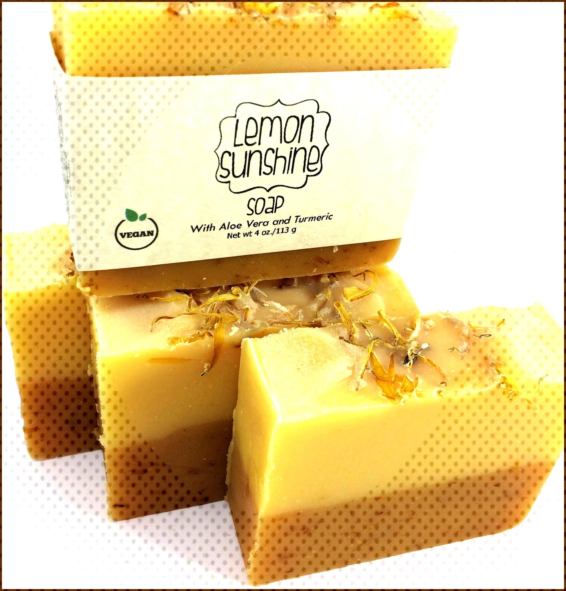 Our popular Lemon Sunshine soap has Calendula infused throughout This flower s petals are touted to