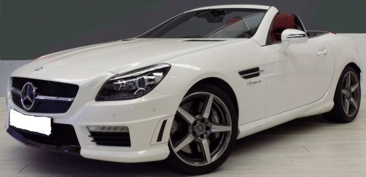 Attirant 2014 Mercedes Benz SLK55 AMG Cabrio 2 Seater Convertible Sports