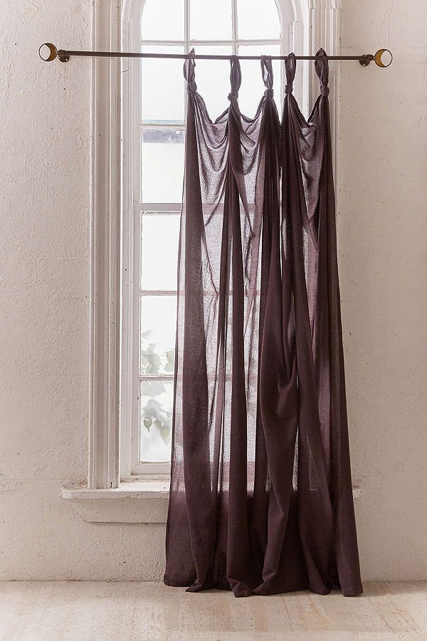Slide View 2 Knotted Window Curtain