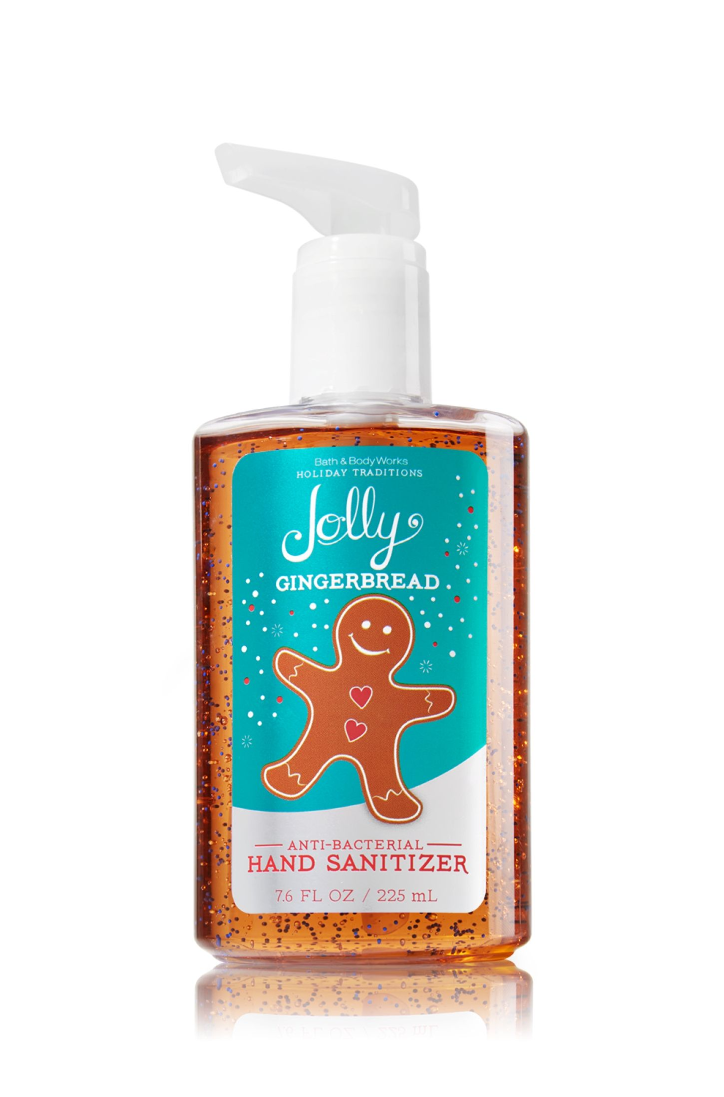Jolly Gingerbread Sanitizing Hand Gel Anti Bacterial Bath