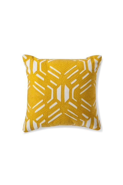 A New Color Is Taking Over Homes This Spring Yellow Decorative Pillows Room Essentials Pillows