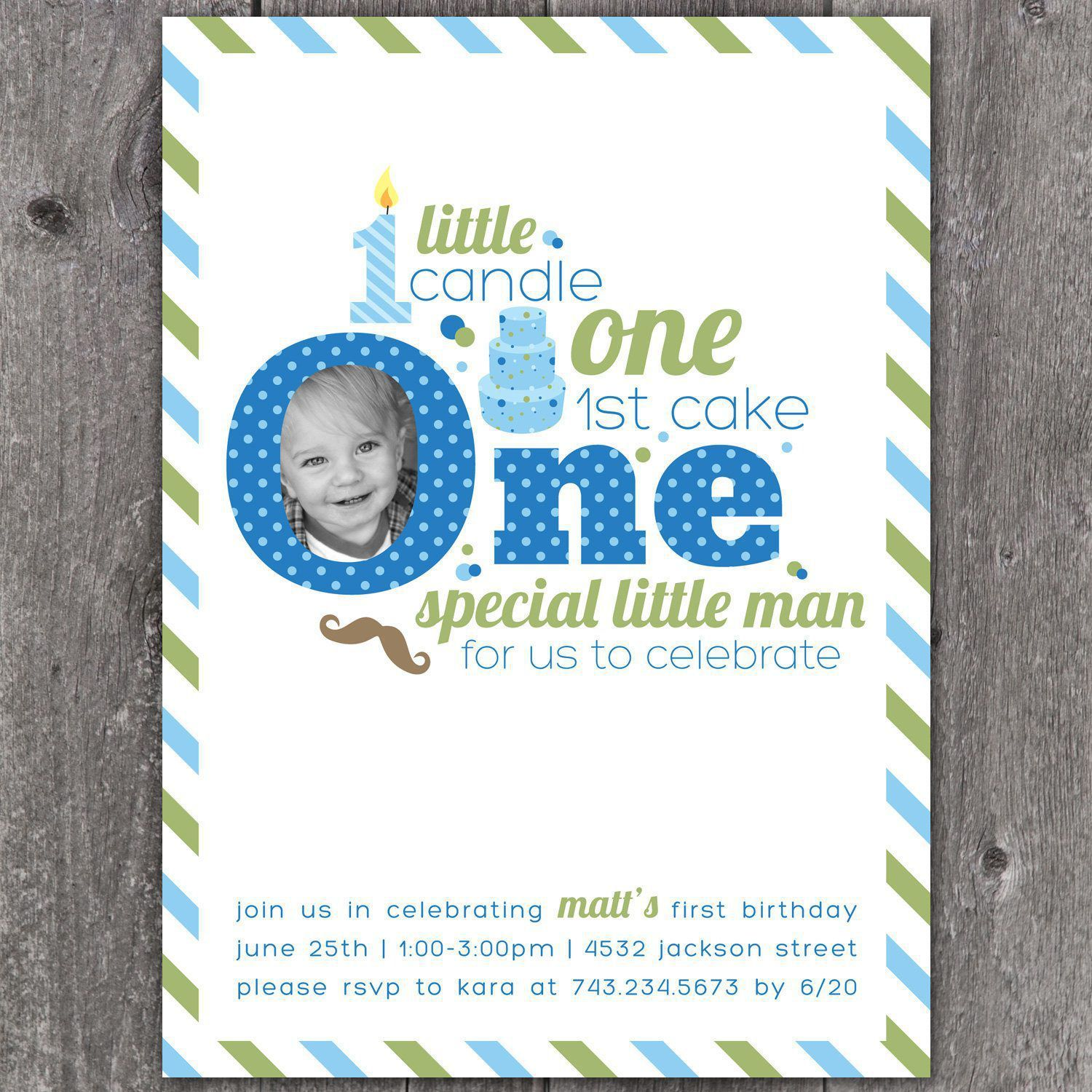 birthday invitation : first birthday invitations - Free Invitation ...