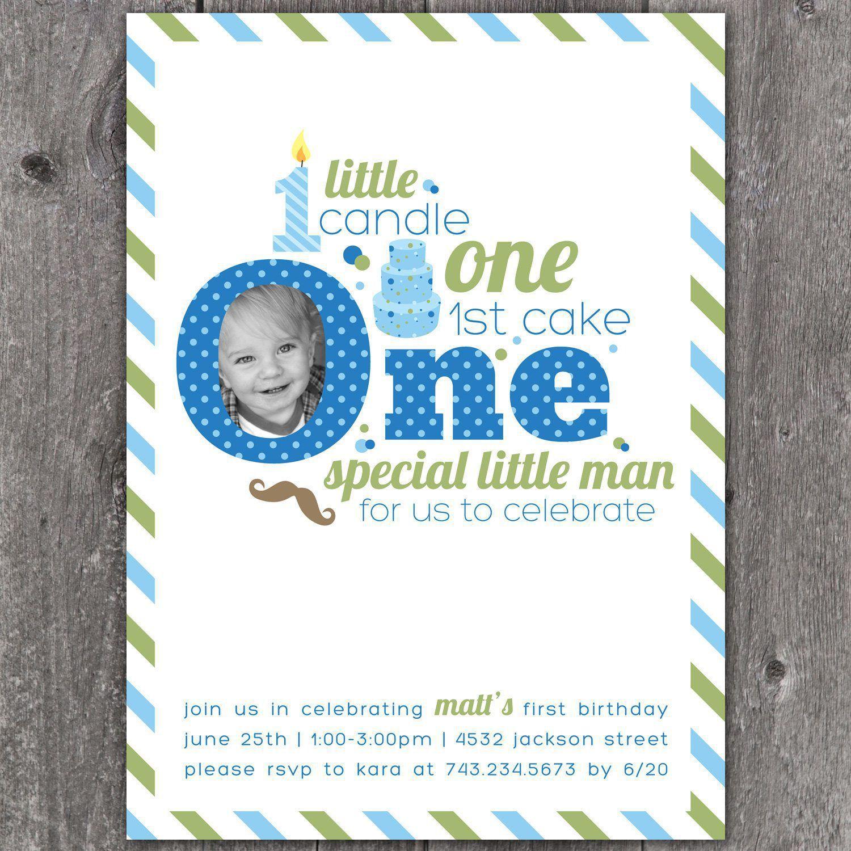 birthday invitation : first birthday invitations - Free Invitation ...
