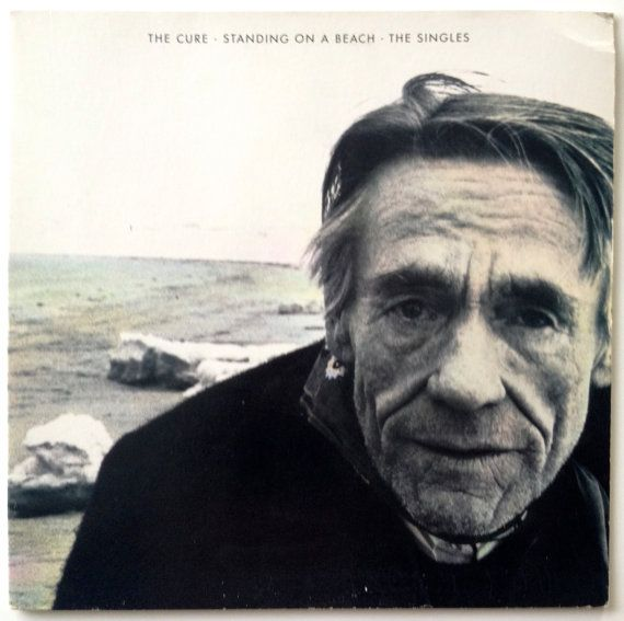 The Cure - Standing on a Beach - The Singles LP Vinyl Record Album, Elektra - 60477-1, 1986 Original Pressing