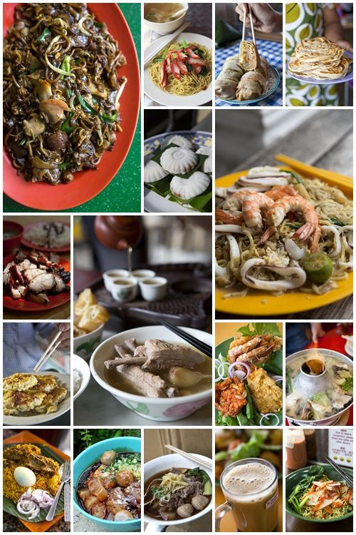 Singapore S Top Ten Hawker Dishes Food Singapore Food Asian Street Food