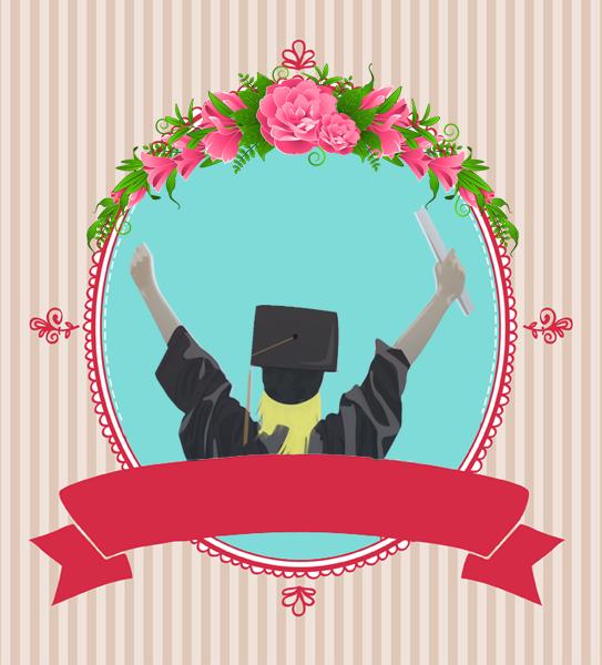 ثيمات التخرج مجانية جاهزة للتصميم هدية من Derm0design Graduation Images Graduation Pictures Graduation Balloons