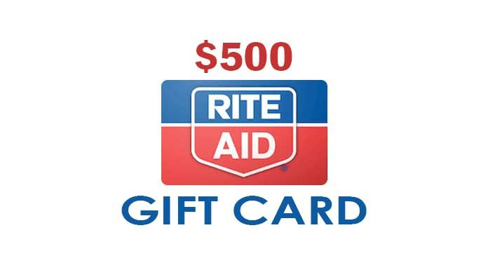 Photo of Get a $500 Rite Aid Gift Card