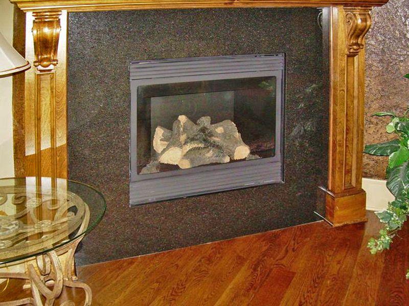 Metal Fireplace Surround Kit | Fireplace | Pinterest | Fireplace ... : fireplace surround : Fireplace Design