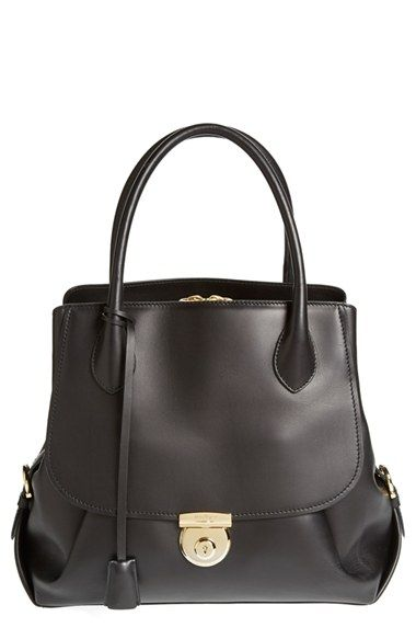 Salvatore Ferragamo  Fiamma  Leather Tote available at  Nordstrom Coach  Handbags 40e98a3eeb96d