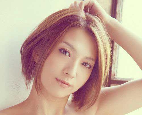 Straight Short Hair for Asian Women | hairstyles | Pinterest | Asian ...