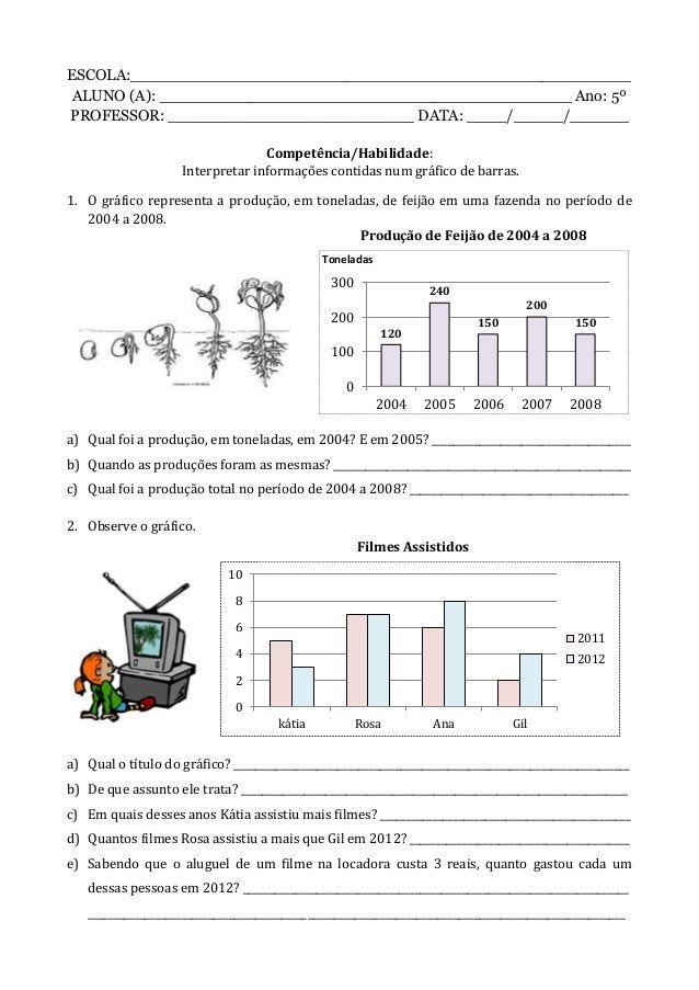 Caderno de atividade - 5º ano - Programa Primeiros Saberes da ...
