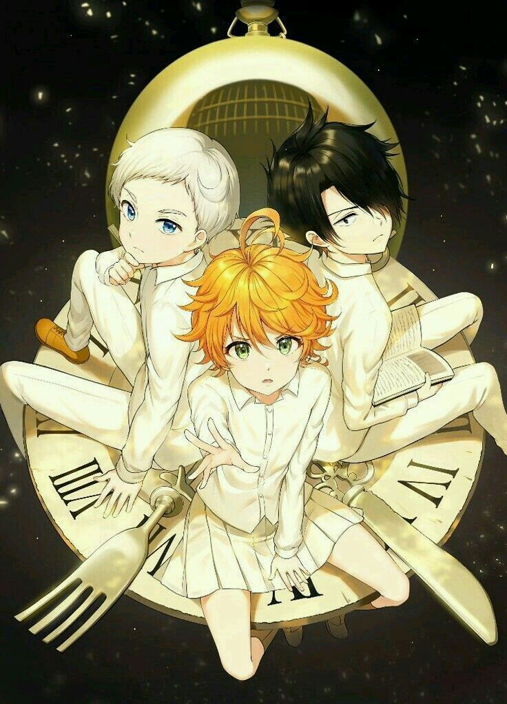 🌺The promised Neverland ~imagens~ 🌺