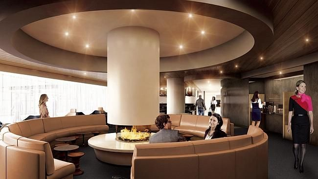 Qantas Offers Sneak Peek Of Upcoming Lounges Lounge Airport Lounge Home