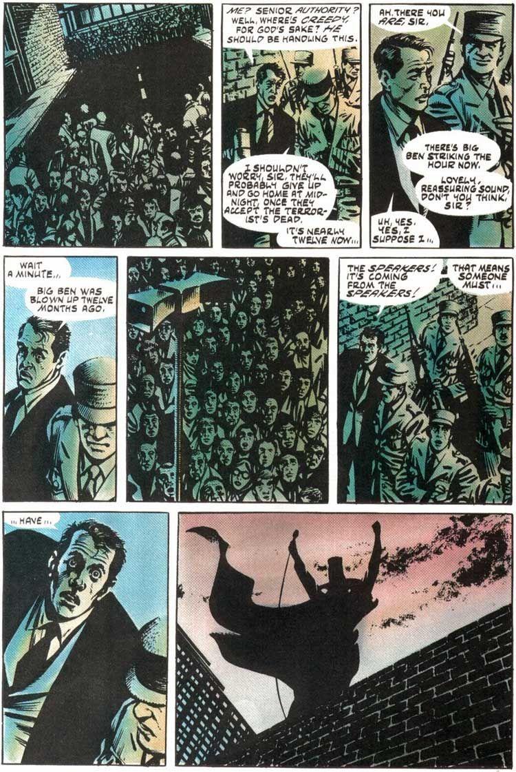 Remember Remember Forbidden Planet Blog V For Vendetta Comic V For Vendetta Vendetta