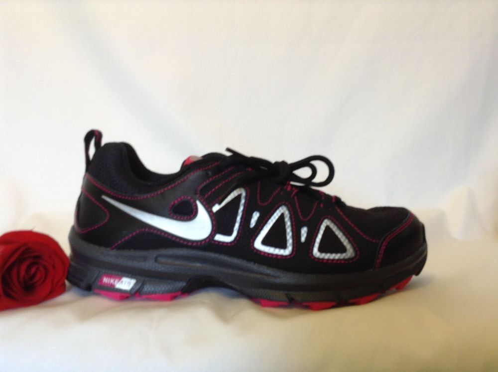 80567aaff09 Women s Nike Alvord 10 Black and Fuscha Running Shoes 512041-060 USA Size 9   fashion  clothing  shoes  accessories  womensshoes  athleticshoes (ebay  link)