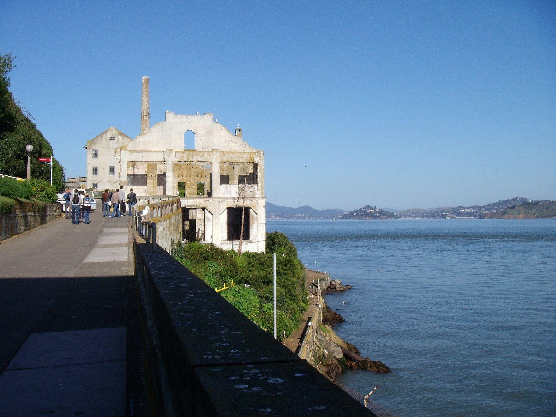Alcatraz Island San Francisco Each Year Over One Million