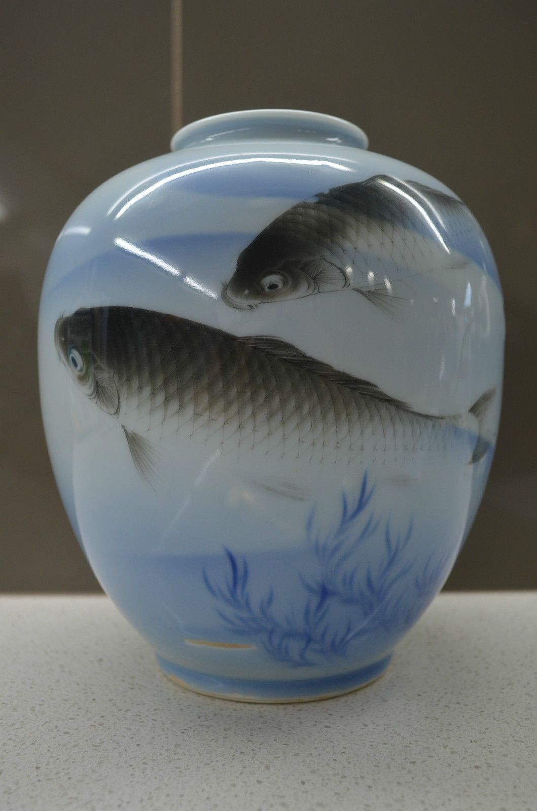 Hand painted meiji period c1890 japanese fukagawa vase this hand painted meiji period c1890 japanese fukagawa vase this example depicts traditional japanese reviewsmspy