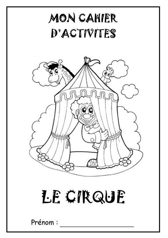 Coloriage Cirque Ps.Des Idees A Prendre Sur Le Site D Une Nounou Cirque A L Ecole