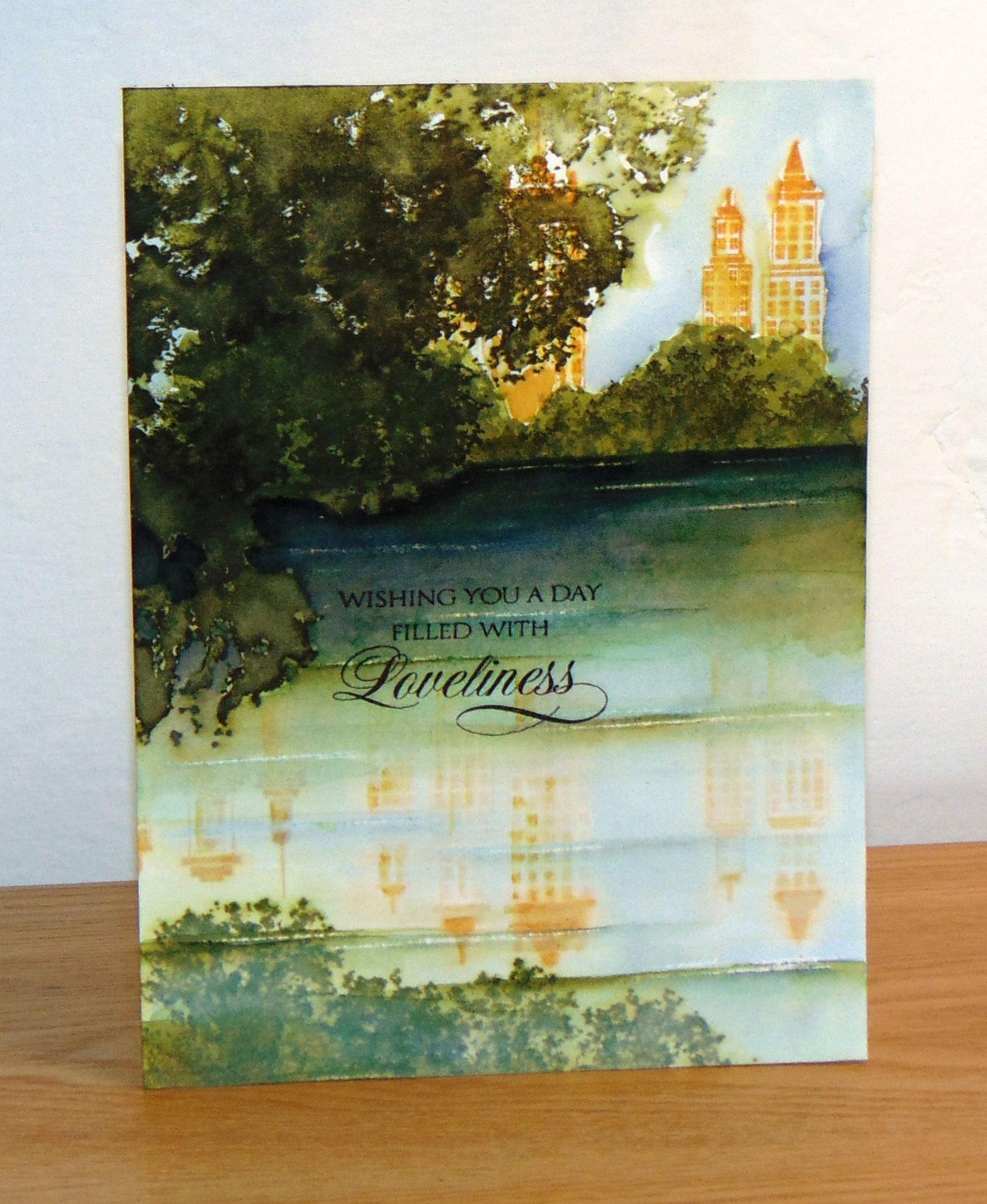 Penny Black 40-246 Skyline Slapstick//Cling Stamps