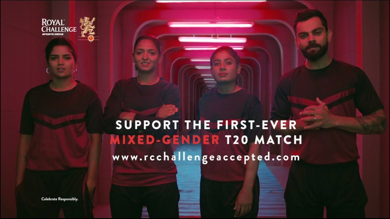 Royal Challenge Presents Challengeaccepted Mixed Gender T20 Match V Take The First Step Challenges Intense