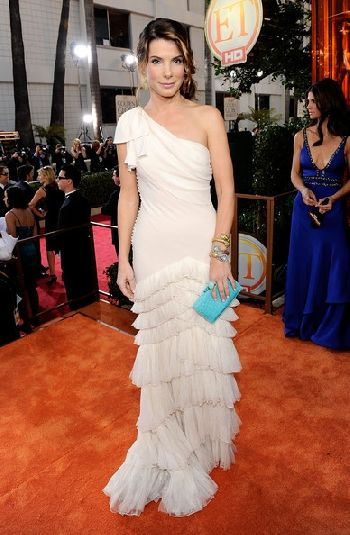 Sandra Bullock Wedding Dress Pic