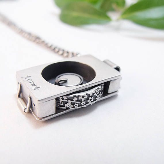 Wedding Ring Holder Pendant Ring Pendant Sterling Silver Pendant Box
