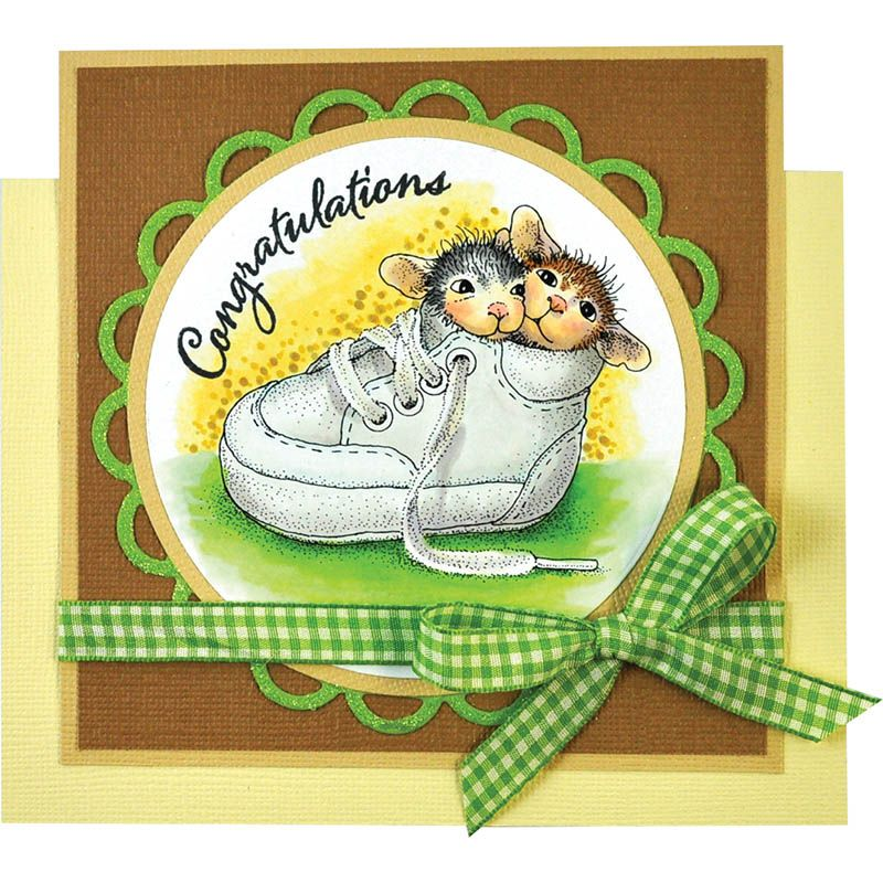 HouseMouse® Shoe Babies by Janelle Stollfus House