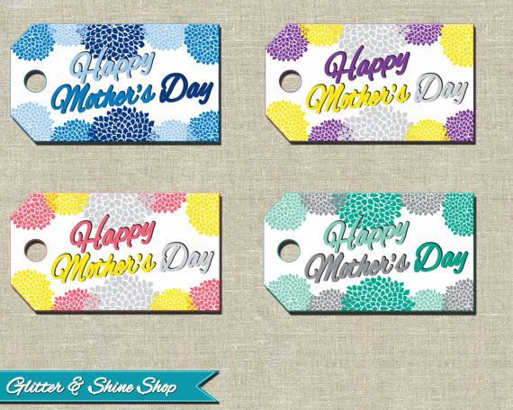 printable mothers day tags mother 39 s day by glitterandshineshop mothersday mother day. Black Bedroom Furniture Sets. Home Design Ideas
