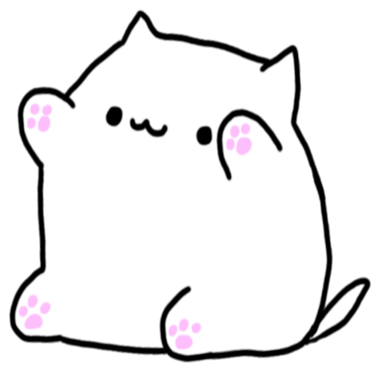 I Just Made This Plush Prototype Of Bongo Cat Please Help Me Improve It Let Me Know Your Opinion Sew Cute Cartoon Wallpapers Cute Stickers Cute Drawings