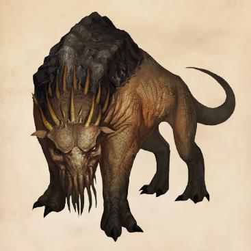 Fantastic Beasts Glossary– Graphorn