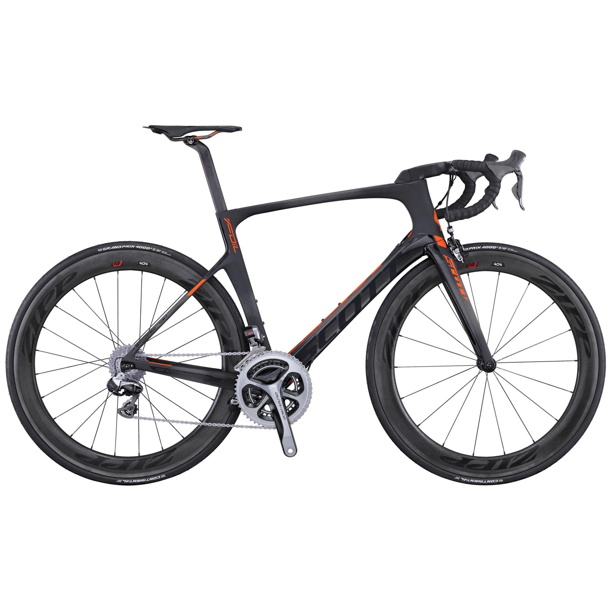 2016 Scott Foil Premium Carbon Road Bike Black Red Road Bike