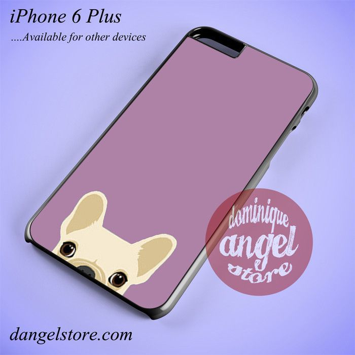 Cute French Bulldog Pink Phone case for iPhone 6 Plus and another iPhone devices