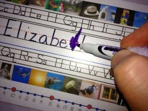 Remove permanent marker by coloring over it with dry erase marker.  Wipe, and it is clean!