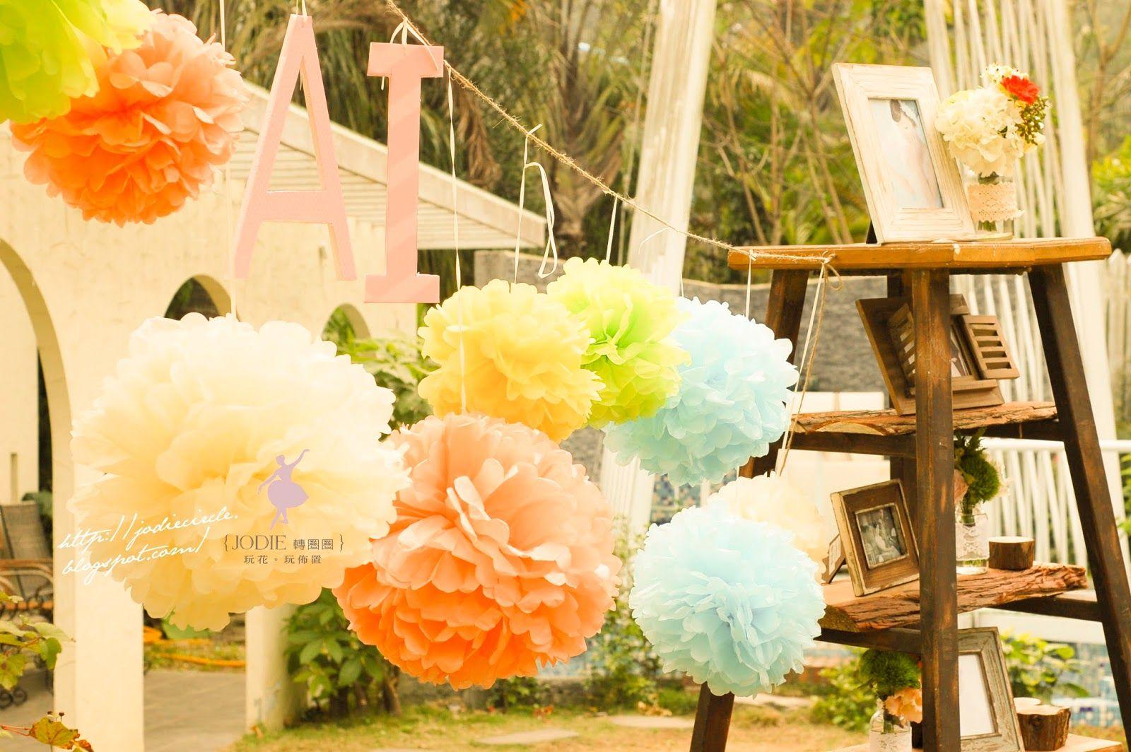 [2014.01.18。童話愛麗絲。婚禮佈置] | 轉圈圈,玩花玩佈置
