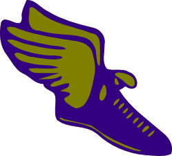 yellow shoe with wings logo alternative clipart design u2022 rh extravector today  yellow shoe with wings logo name