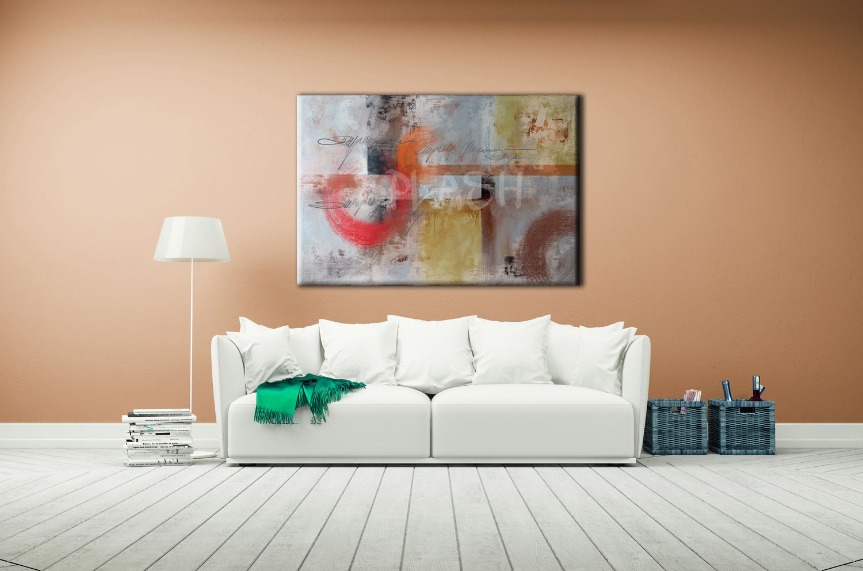 Cuadros abstractos cuadros modernos cuadros para sal n - Cuadros de salon ...