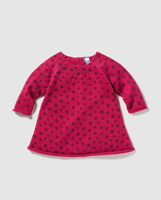 Vestido de bebé niña en rojo