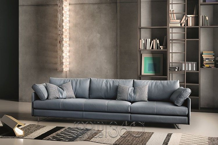Swing Sectional With Chaise Quickship Contemporary Sectional