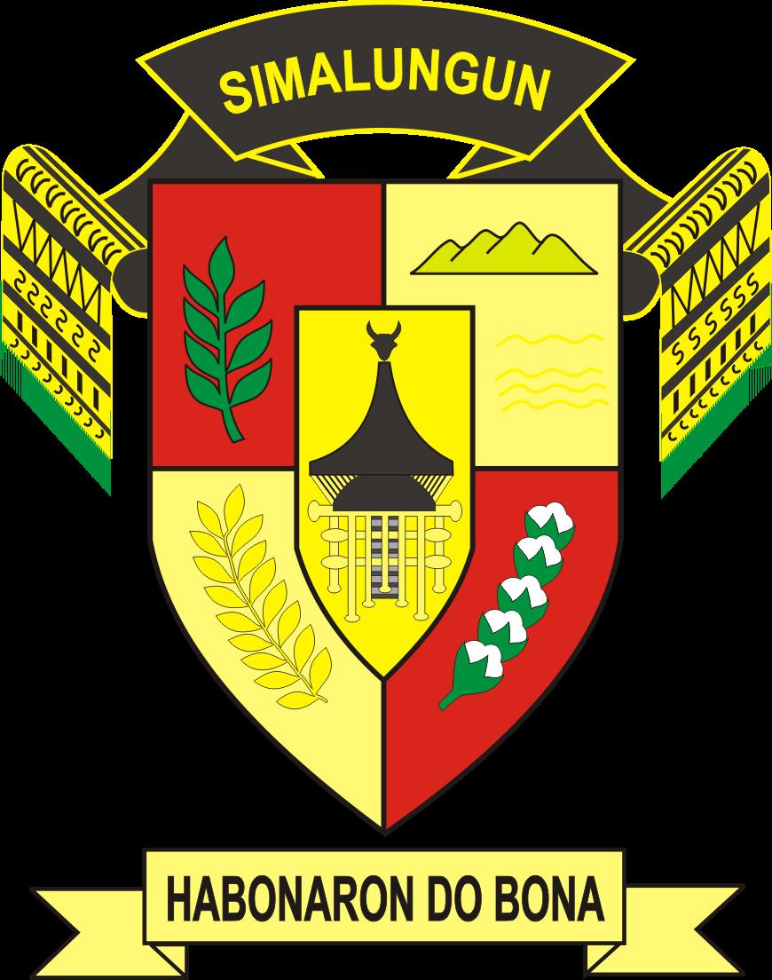 Logo Kabupaten Simalungun Logo Lambang Indonesia Indonesia Danau Toba Hidup Sederhana