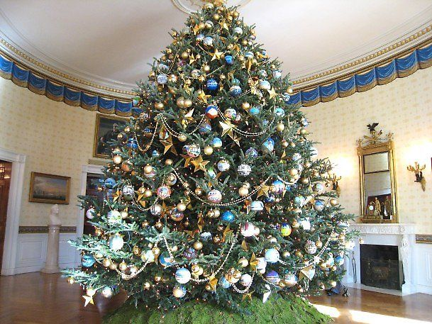 Famous Christmas Trees Around The World White House Christmas Tree White House Christmas Decorations Christmas Tree Origin