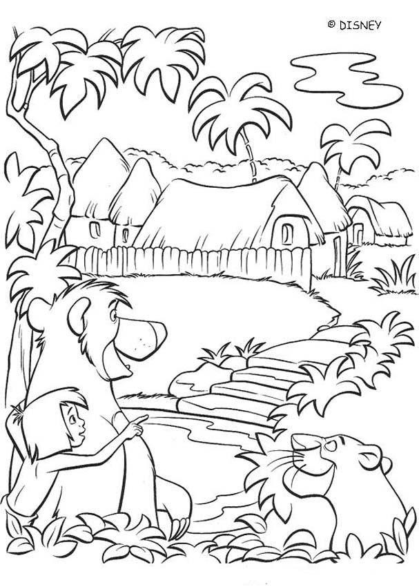 Fondo De Pantalla Selva El Libro De La Selva Libro De Dibujo