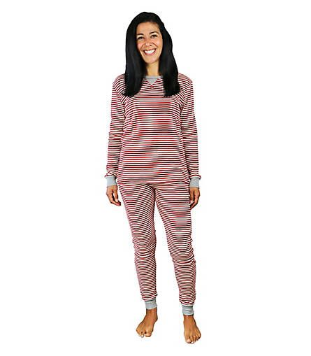 Women's Candy Cane Pajama Set - Burts Bees Baby | holiday ...