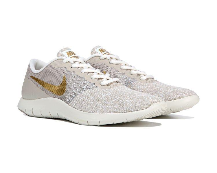 6d741a9dd1a9 Nike Flex Contact Running Shoe Grey   Rose Gold