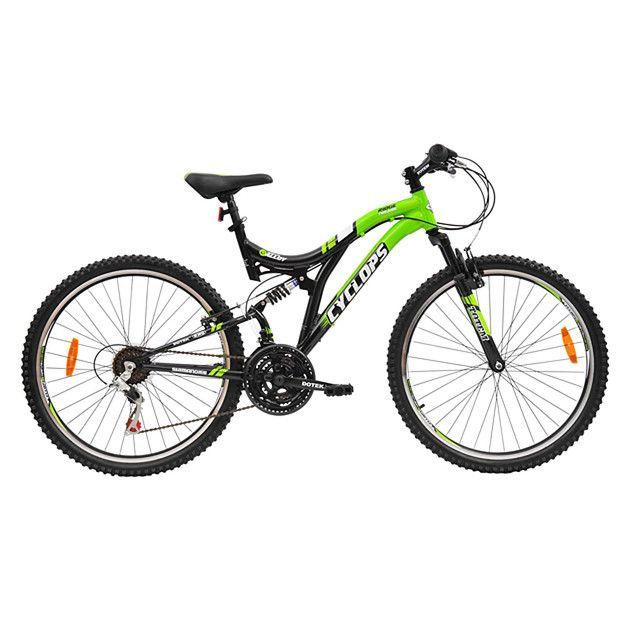 b93639cf2  149   Target Men s Cyclops Alloy Dual Suspension Bike 66cm