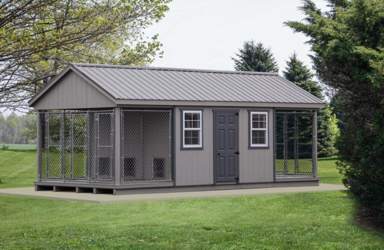 Amish-Made Portable Dog Kennels | The Dog Kennel Collection