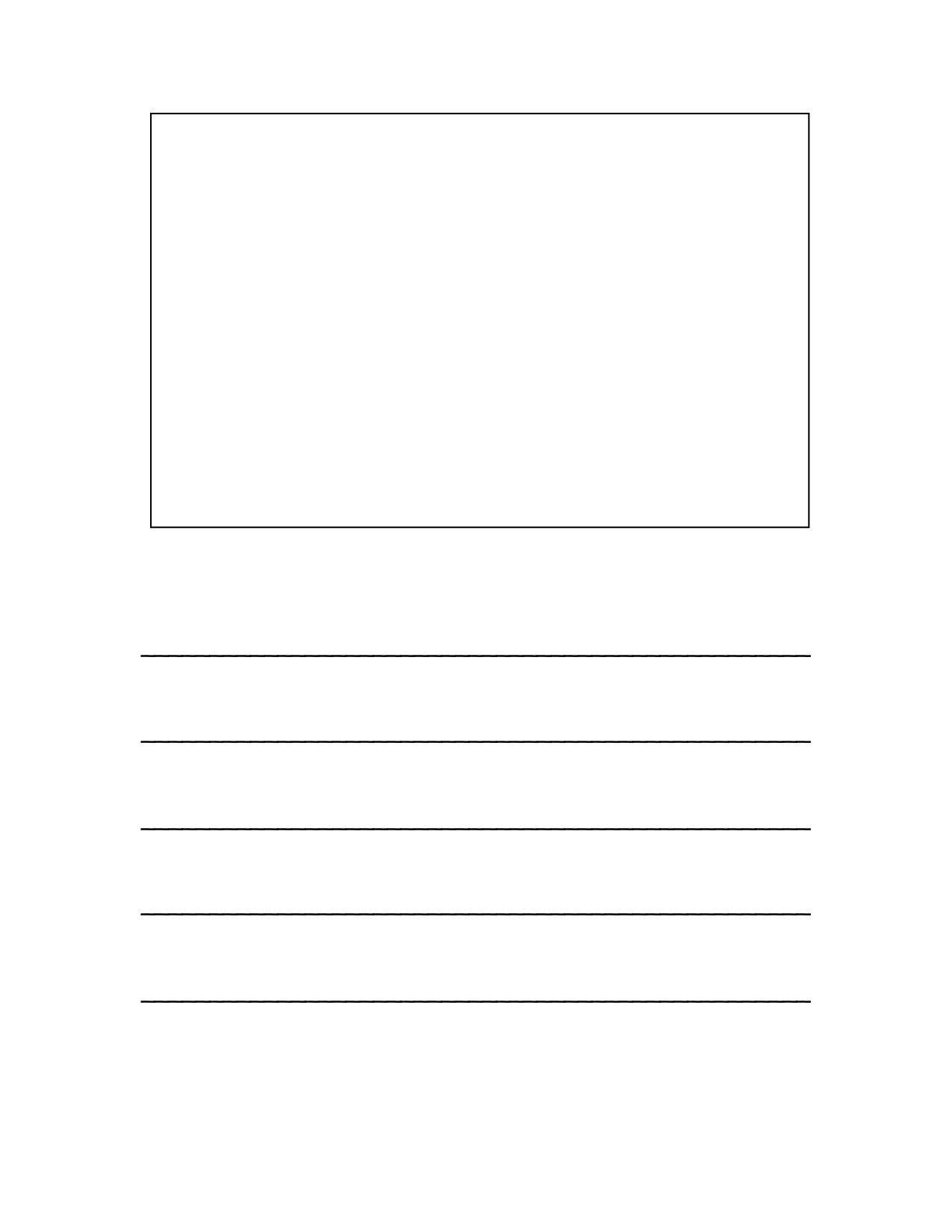Recipe Book Page Template Print At 115